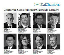 CA Legislative Pictorial Roster 2018
