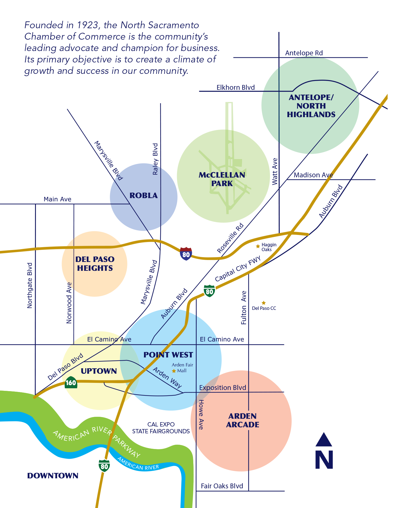 About | North Sacramento Chamber of Commerce on roosevelt field map, northridge mall map, arrowhead towne center map, hulen mall map, sunrise mall map, freehold raceway mall map, heritage park map, parks mall map, airport map, colonial village map,